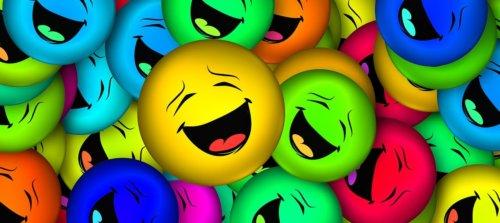 笑ってる画像